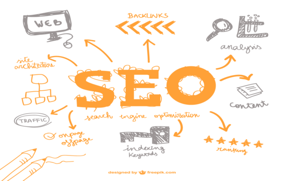 scribble of local seo backlinks