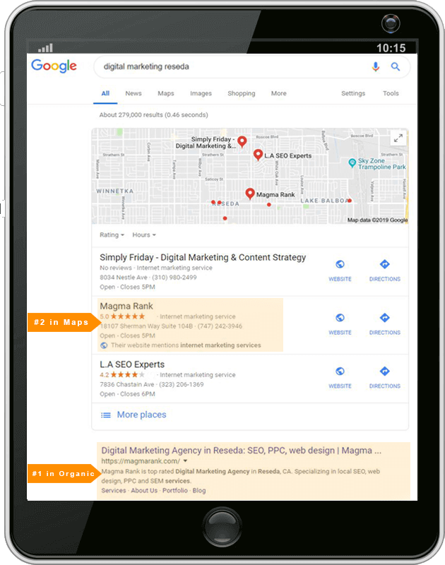 digital-marketing-search on-tablet
