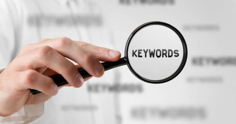 inserting keywords